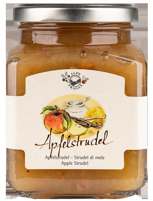 Alpe Pragas Apfelstrudel Fruchtaufstich   - 335g