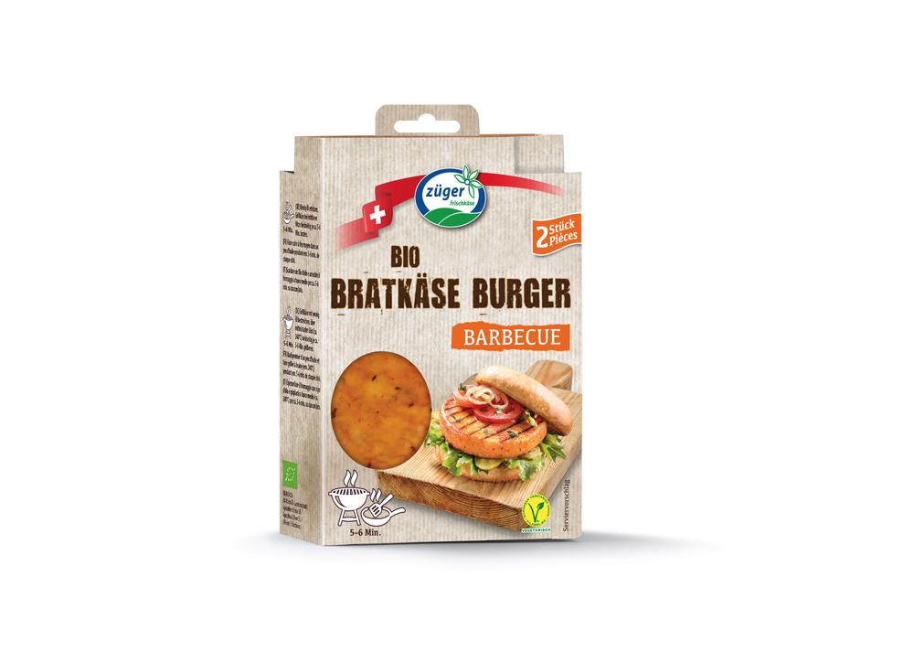 Bratkäse Burger Barbecue BIO
