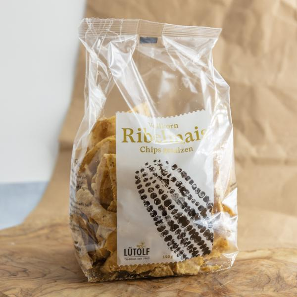 Vollkorn Ribelmais Chips gesalzen