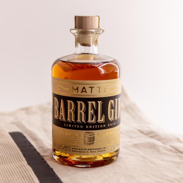 Matte Barrel Gin