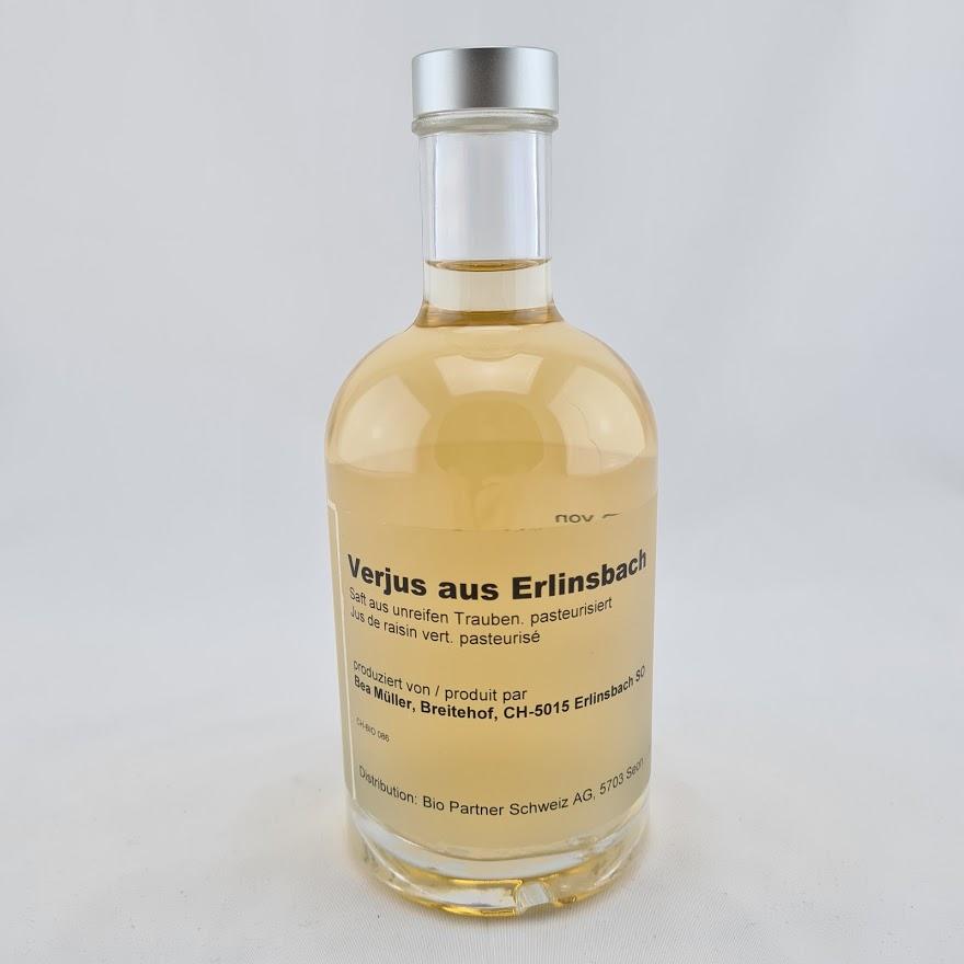 Verjus Erlinsbach Knospe