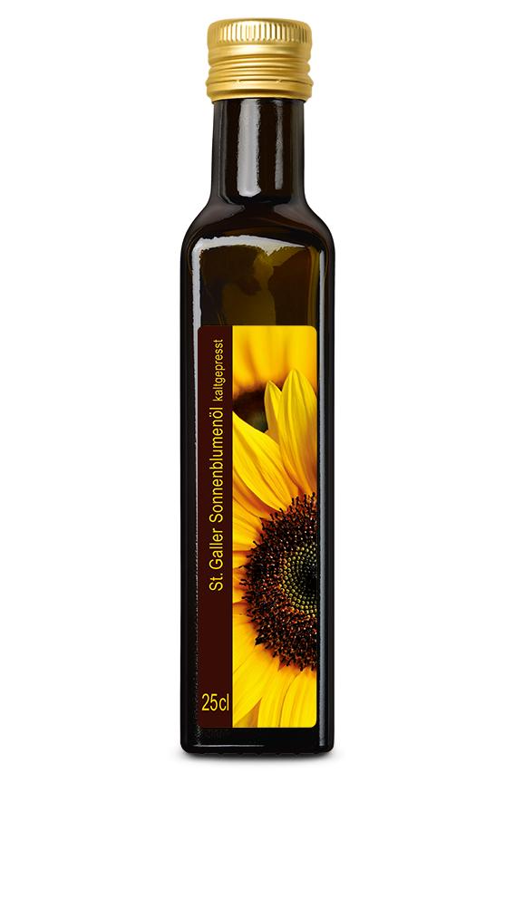 St.Galler Sonnenblumenöl, kaltgepresst