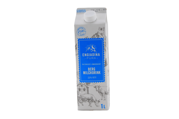 Engadiner Milch- Drink