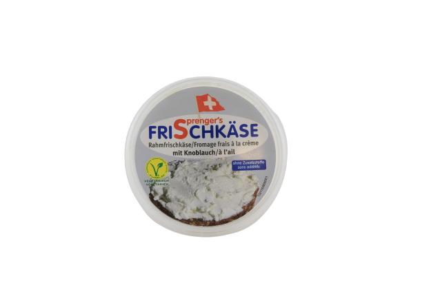 Frischkäse mit Knoblauch