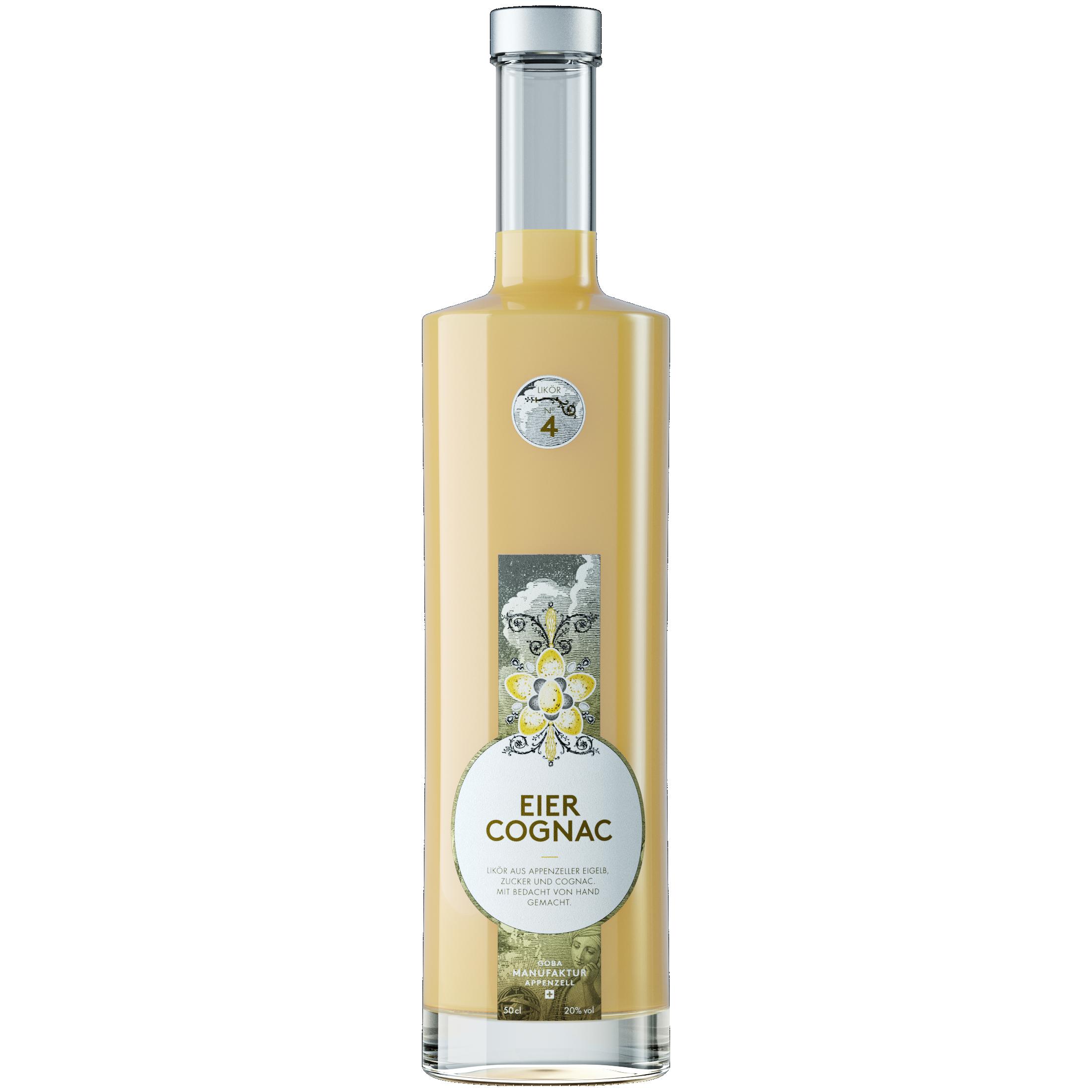 No. 4 Eier Cognac Likör