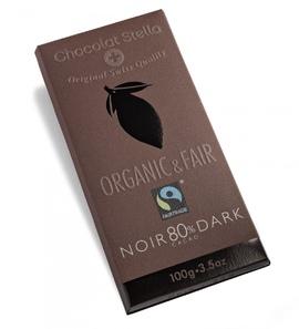 "Chocolat Stella ""92% Dark"" Organic & Fair Trade"