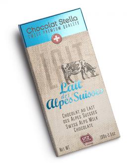 """Chocolat Stella """"Lait des Alpes Suisses"""""""