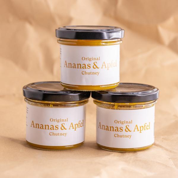 Original Ananas & Apfel Chutney