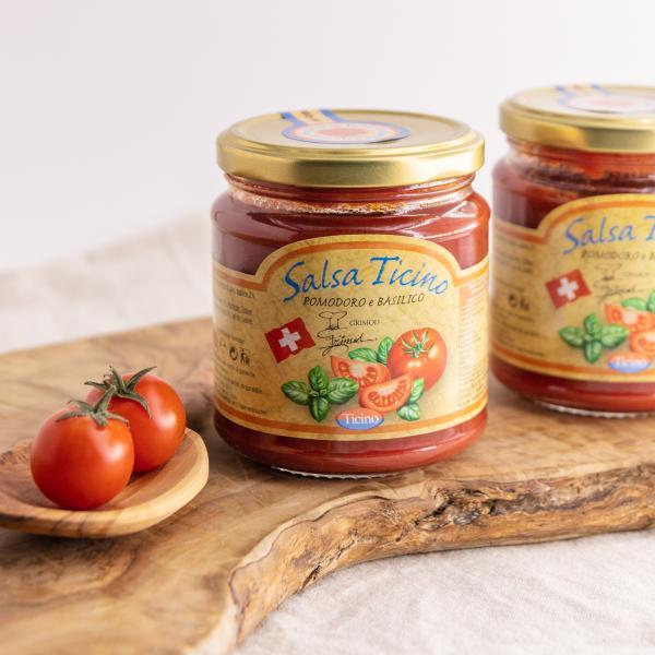 Salsa di Ticino- Pomodoro e Basilico