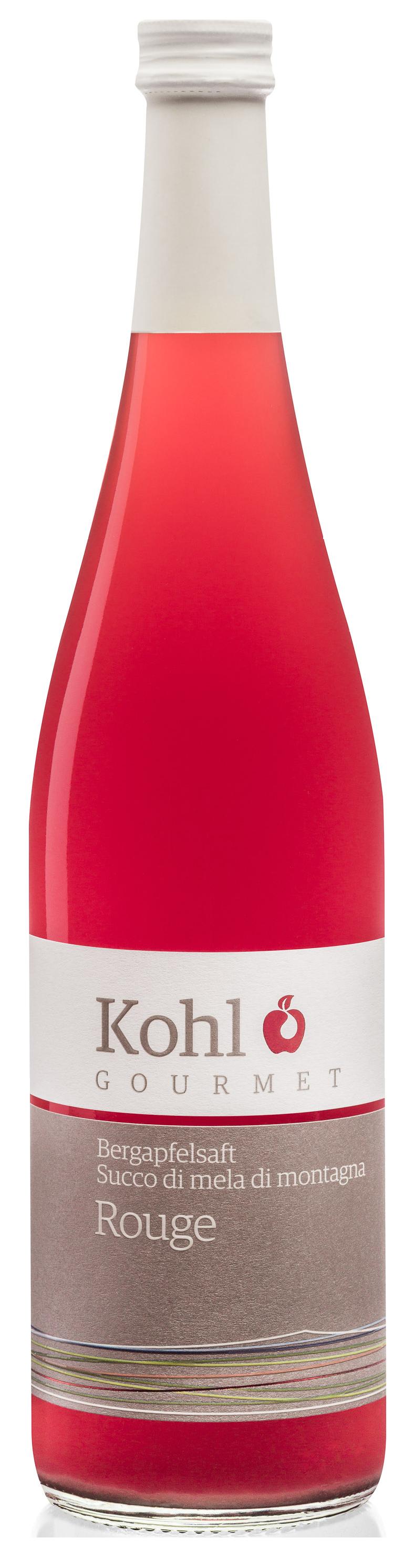 Bergapfelsaft Rouge  - 750ml