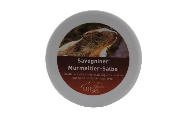 Savogniner Murmeltier Salbe