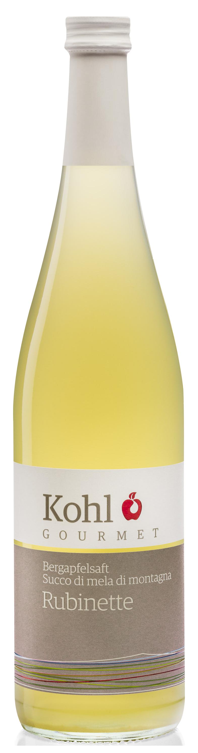 Bergapfelsaft Rubinette  - 750ml