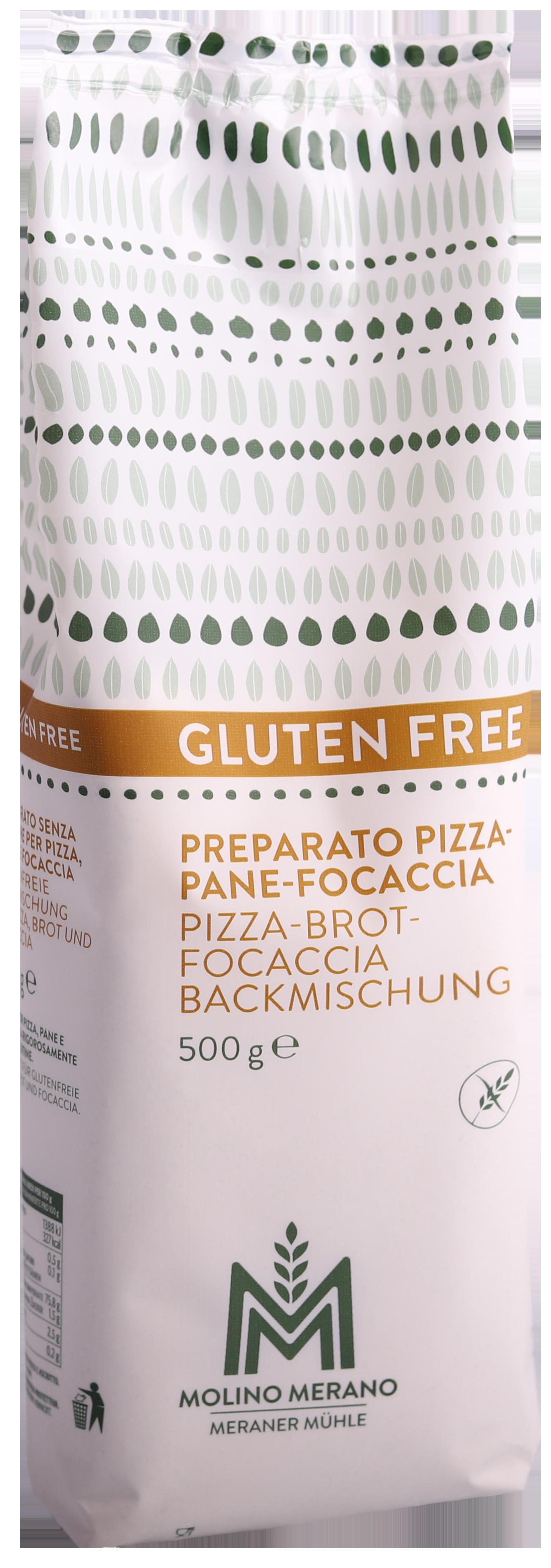 Pizza-Brot-Focaccia Backmischung glutenfrei