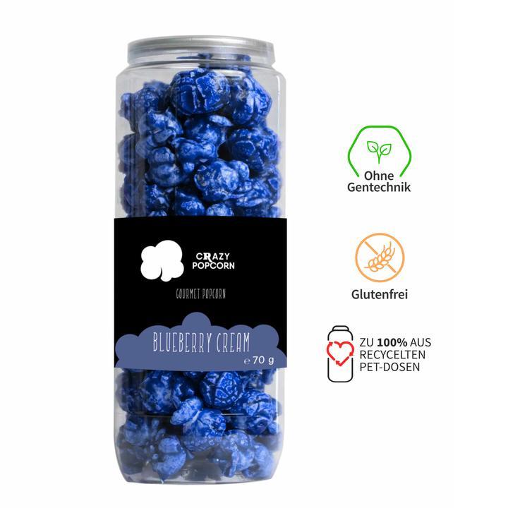 Blueberry Cream Popcorn