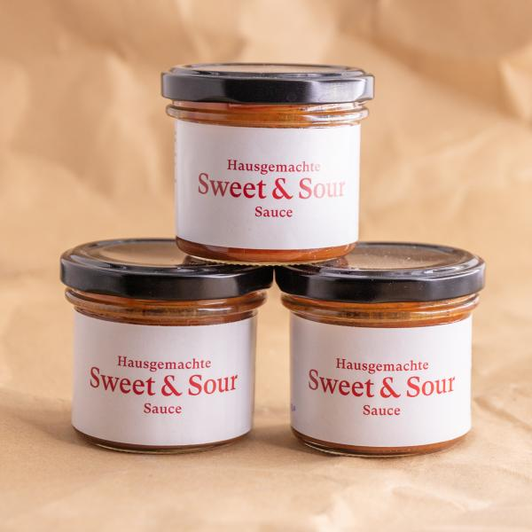 Hausgemachte Sweet & Sour Sauce