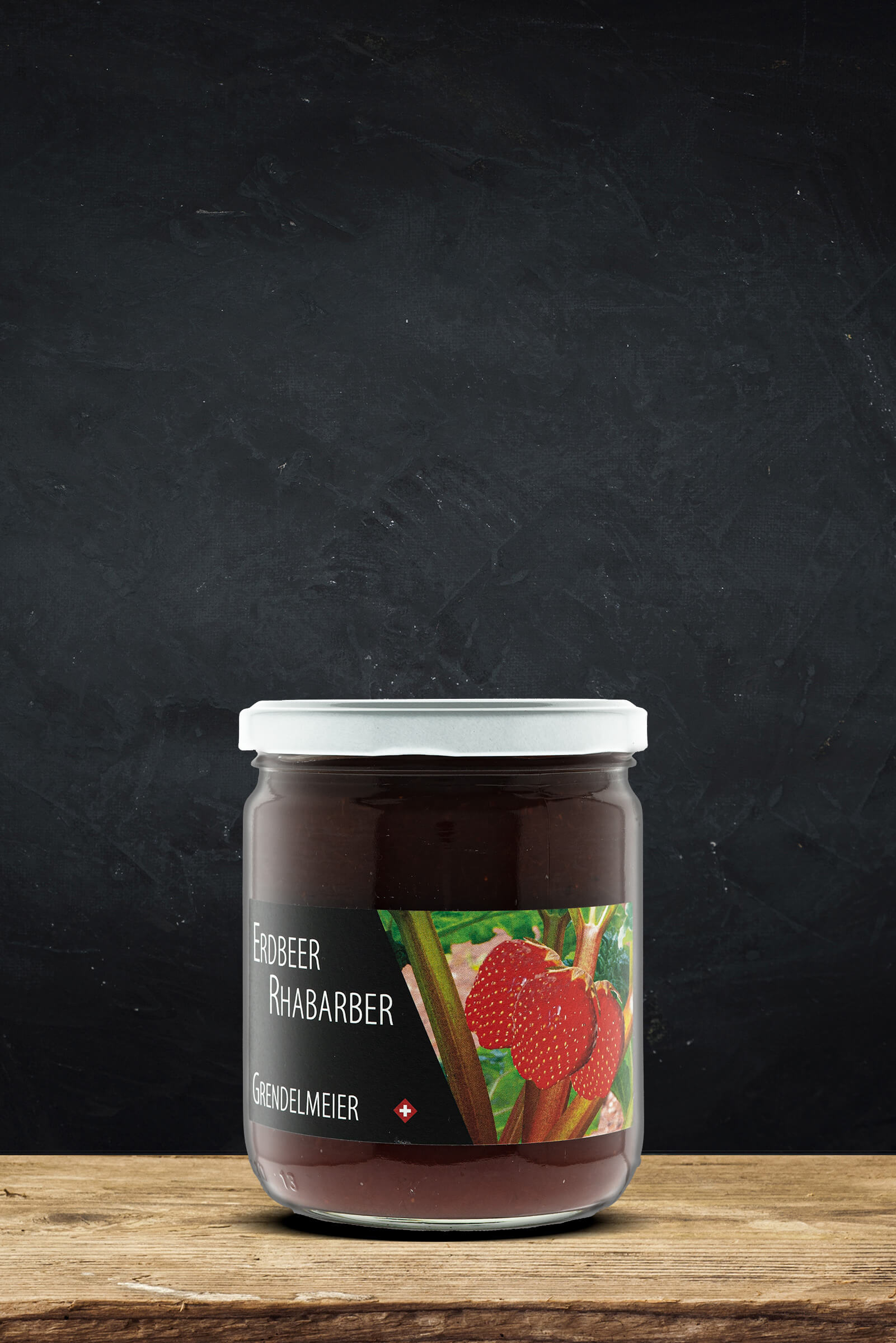Erdbeer- Rhabarber Konfi
