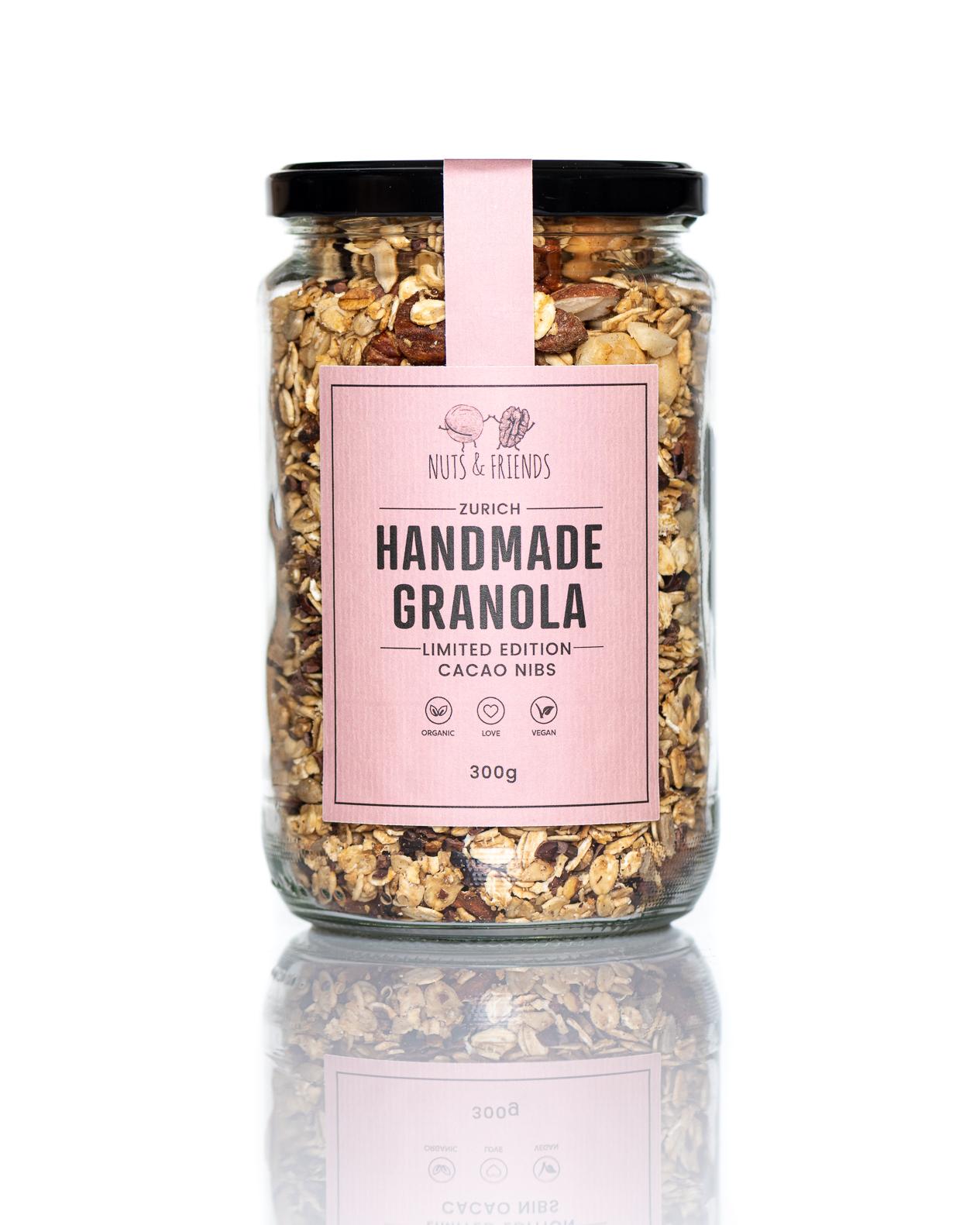 Granola Limited Edition- Cacao Nibs, BIO