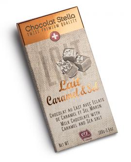 """Chocolat Stella """"Lait Caramel & Sel"""""""