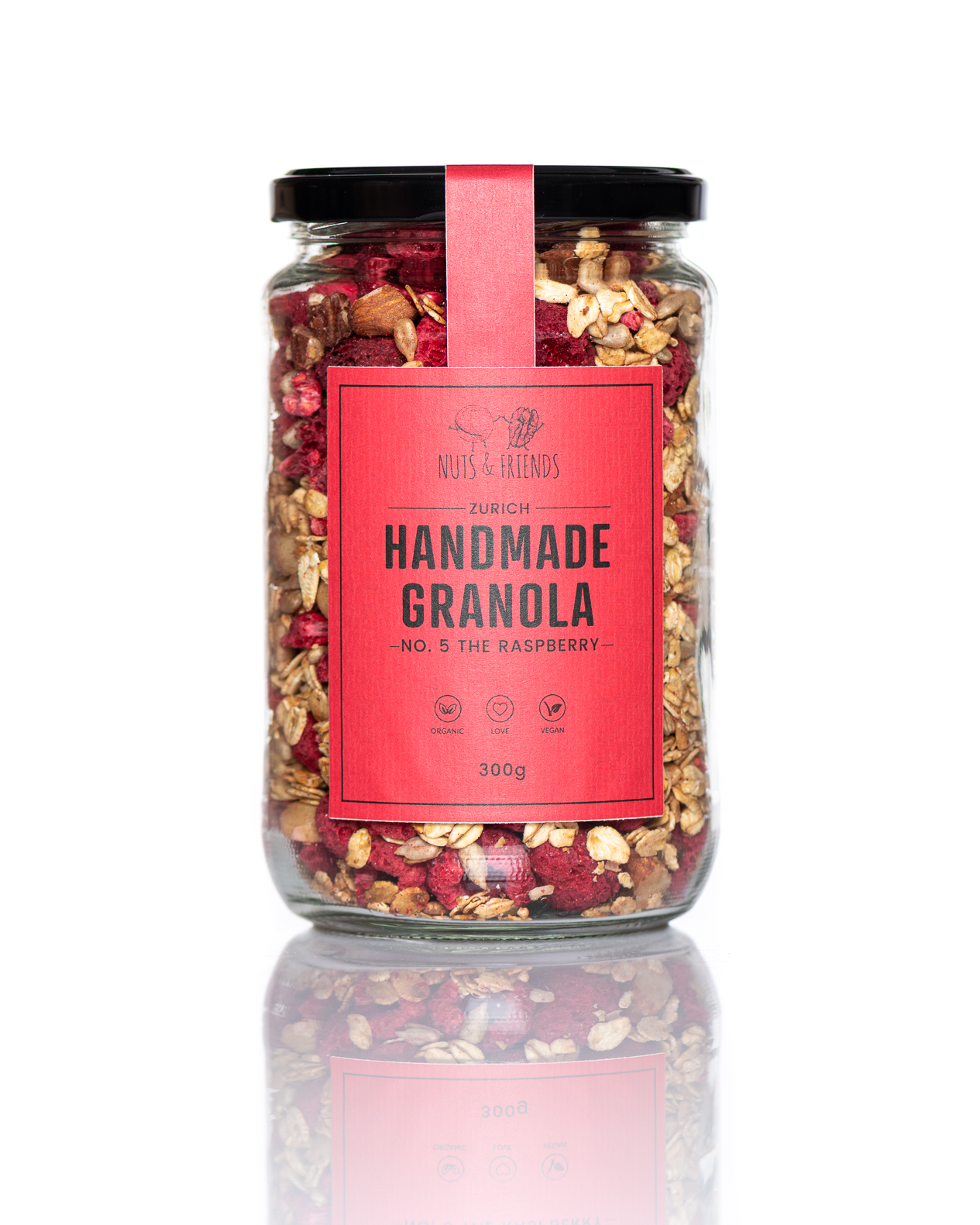 Granola No. 5 – The Raspberry, BIO