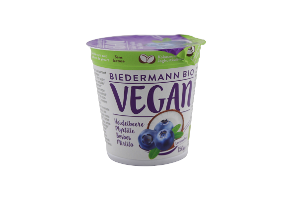 Heidelbeerjoghurt - 150g BIO Vegan