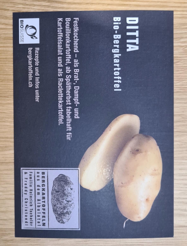 Bergkartoffeln Ditta