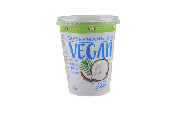 Kokosjoghurt -375g BIO Vegan